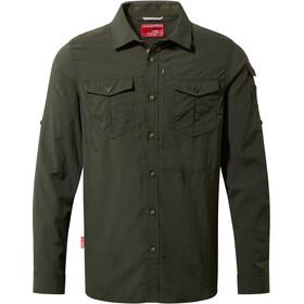 Craghoppers NosiLife Adventure - T-shirt manches longues Homme - marron